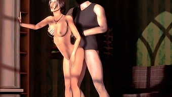 Nice 3D Girlfriends Wild Fuck in All Poses