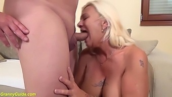 granny hairy ass gets destroyed