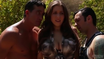 Alex Possibility is basically a full-figured brunette needing a couple of very difficult dicks