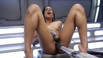 unquenchable kira noir gets fucked complicated by fucking machine