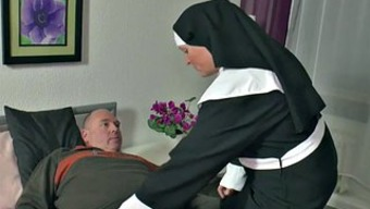 In german Grandma Nun get Fucked along with not father in SexTape