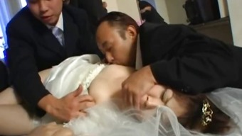 Far eastern future bride gets extreme panel fucking part1
