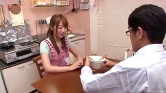 Co-working From asia nice girls enter the wash room for a few lesbian enjoyable