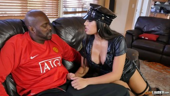 Buxom law enforcers Mercedes Carrera is a little bit of of a size sovereign