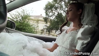 Fascinating future bride Amirah gets pussy fucked