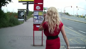 BUS Quit Damsel GIVES Fantastic BLOWJOBS