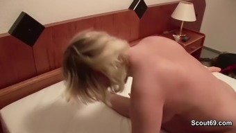 Mom and Dad in Privat SexTape for A language like german Pornography Casting