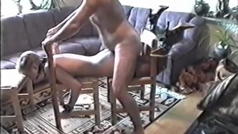 Classic Amateur Bondage (lovely date and hairy fuck)