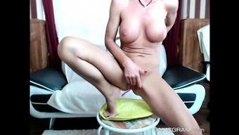 Perfect Great Tits Model Loves To Display On Cam