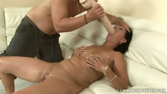 Messed up brunette grow older squirts getting her take fisted