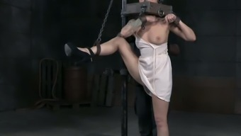Abigail Dupree has got a deeply pierced pussy and he or she loves BDSM