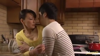 Fascinating Age Japanese Supplying a better Blowjob with the food prep