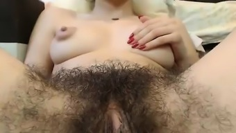 Warm Furry Pussy Along with Large Nipples On Digicam