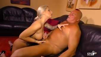 Sextape Germany - A language like german sex video with sizzling inked blonde girl
