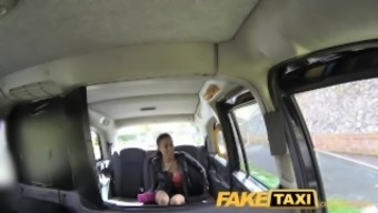 FakeTaxi Taxi driver gets fortunate twice by using definitely warm baby