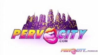 PervCity Alison and Sarah Anus Join forces
