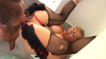 Big tits Blond Ass To effectively Entrance two(2)