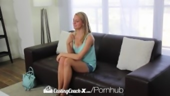 CastingCouch-X - Newbie Alli Rae inquires of for a messy body