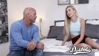 Beautiful young adult Alexa Style pussy remarkable and provided with with cum