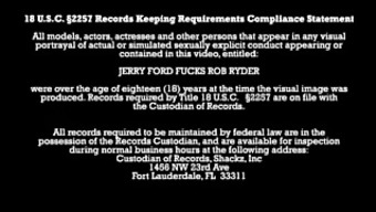 Jerry Ford fucks Robbing Ryder